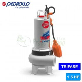 BC 15/50-MF - electric Pump for sewage water with dual-CHANNEL