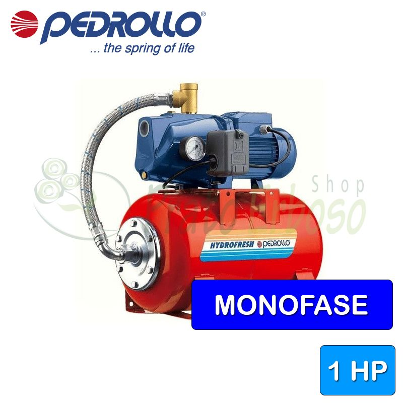 CPm 158 - 24 CL - Group water pressure system with pump, CPm 158