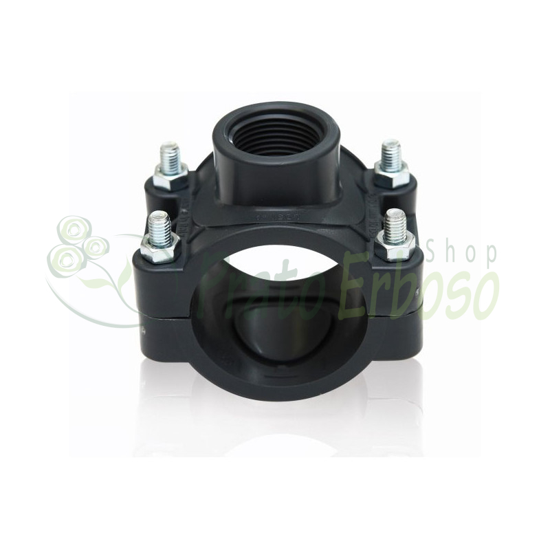 Outlet bracket PN 16 with screws zinc plated 25 X 1/2
