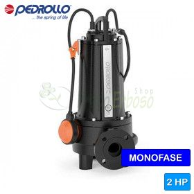 TRm 1.5 - submersible electric Pump with grinder single phase