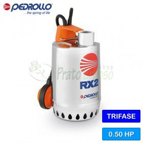 RX 2 (10m) - electric Pump for clear water three-phase