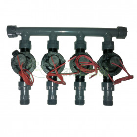 "coll-ez-flo-plus-tp4 - Manifold from 1"" to 4 zones"