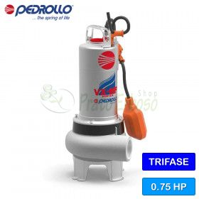 VX 8/50-MF - electric Pump for sewage water VORTEX three phase