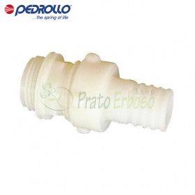 """RP 0.75 - Fitting with hose connector, straight Nylon 3/4"""""""