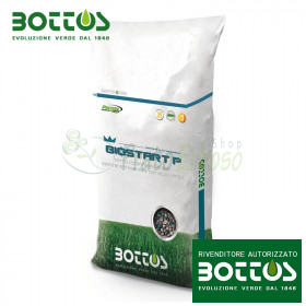 Bio Start 12-20-15 - Fertilizzante per prato da 25 Kg