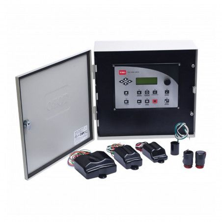 TDC - Control unit with two-wire system up to 200 stations