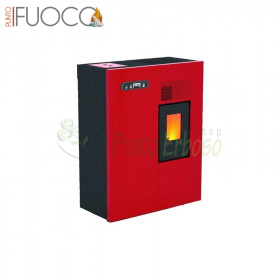 Camilla - pellet Stove 4.6 Kw red