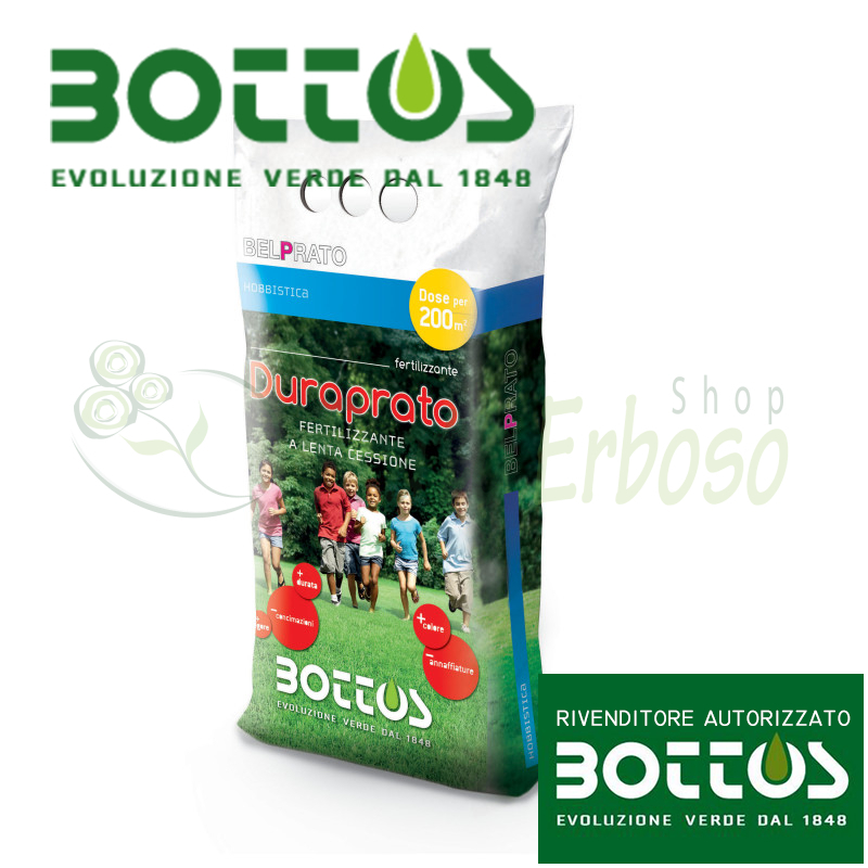 Duraprato 10-6-15 C+B+Zn - Fertilizer for the lawn 5 kg