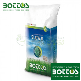 Slow K 12-6-18 + 2.5 MgO - Fertilizer for the lawn 25 Kg
