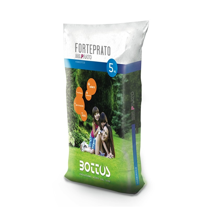 Forteprato - Seeds for lawn of 5 Kg