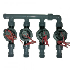 "coll-ez-flo-plus2 - Manifold from 1"" to 2 areas"