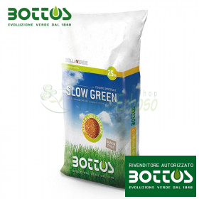 Slow Green 18-6-12 + 2 MgO - Fertilizer for the lawn 25 Kg