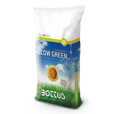 Slow Green 22-5-10 + 2 MgO - Fertilizer for the lawn 25 Kg