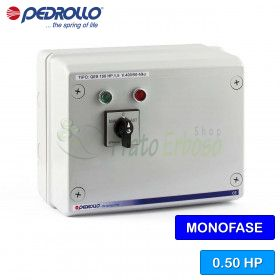 QSM 050 - electric panel for electric pump in single phase 0.50 HP