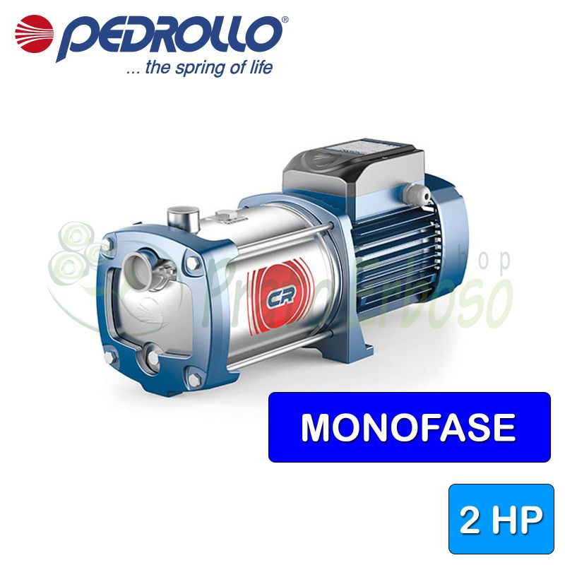 4CRm 130X - Pump multigirante single-phase