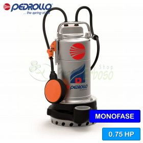 D 8 (5m) - electric Pump for clear water three-phase