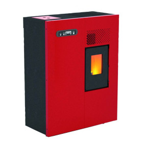 Camilla - pellet Stove 4 Kw red