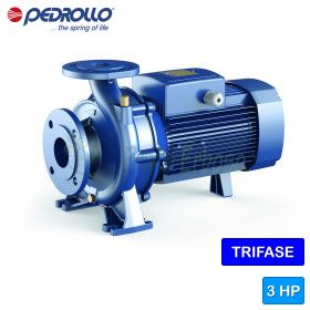 F 40/125A - centrifugal electric Pump of the normalized three-phase