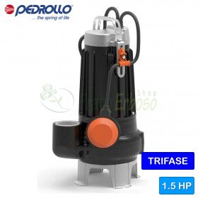 VXC 15/45-N - electric Pump for sewage water VORTEX three phase