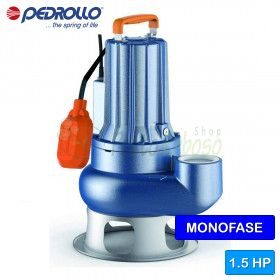 VXCm 15/50 - electric Pump for sewage water VORTEX single phase