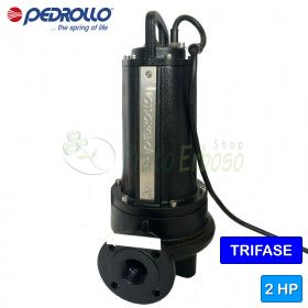 TR 1.5 - submersible electric Pump with shredder three phase
