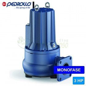 VXCm 30/70-F - electric Pump for sewage water VORTEX single