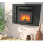 Alessio - fireplace Insert pellet 11 kw
