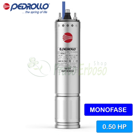 """4PDm / 0.50 - 4 """"0.5 HP single-phase rewindable motor"""