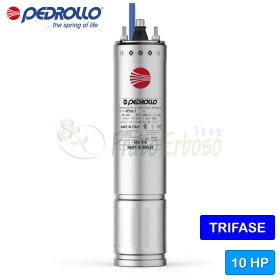 """4PD/10 - Motor rewindable 4"""" 10 HP three phase"""