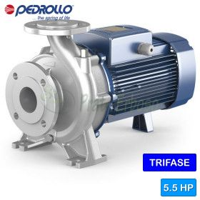 F 65/125C-I - Pump close-coupled stainless steel three-phase