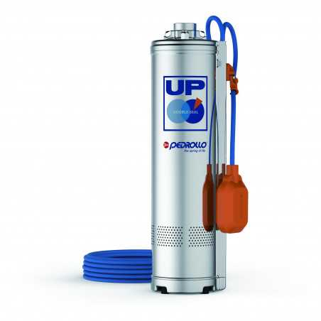 UPm 2/4-GE - submersible Pump single-phase with float switch