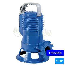 100/2/G40H A1CT - électrique, Pompe submersible chopper, en