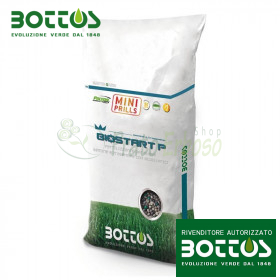 Bio Start 17-22-0 Mini Prills - Fertilizzante per prato da 25 Kg