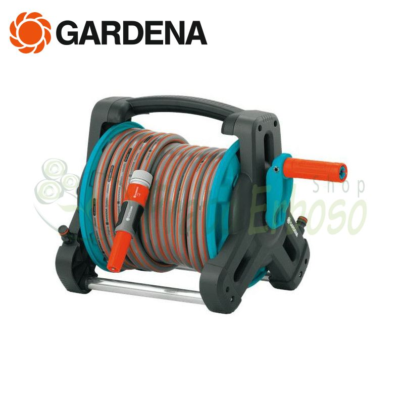 Garden hose + hose reel compact and accessories