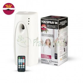 You Spray Dispenser to spray the insecticide from the inside