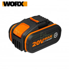 WA3553 - Batterie 20V Lithium-ion 4.0 Ah pour les engins Worx