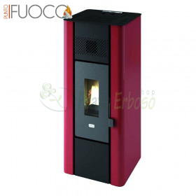Minni - pellet Stove 6.3 Kw red