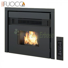 Parsley - fireplace Insert pellet: 7.5 Kw