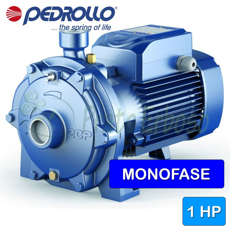 2CPm 25/130N - centrifugal electric Pump twin-impeller single