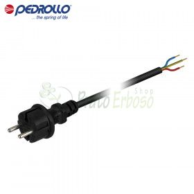 Cable for pump, 1.5 m 3x1 schuko plug