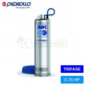The NK-4/3 (10m) - submersible electric Pump three-phase 230 V