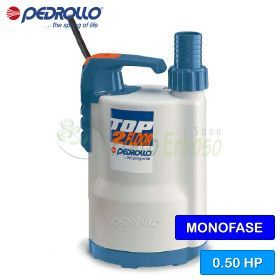 TOP 2 - FLOOR (10m) - electric Pump to drain clear water