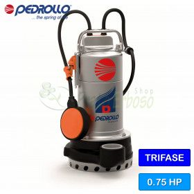 D 8-N - motor Pump for clear water three-phase