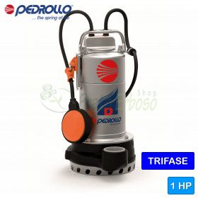 D 10 (10m) - electric Pump for clear water three-phase