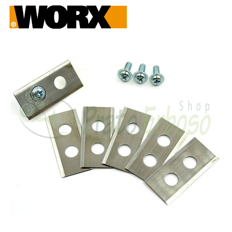 XR50032396 - Set of 3 blades with screws for WR105SI and WR105SI.1