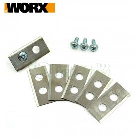 XR50028865 - Set of 4 blades with screws for WG796E.1 and WG797E.1