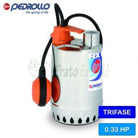 RX 1 (10m) - electric Pump for clear water three-phase