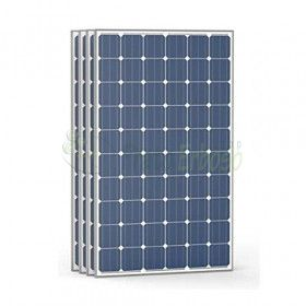 4 photovoltaic Panels, high-efficiency 50 Vdc