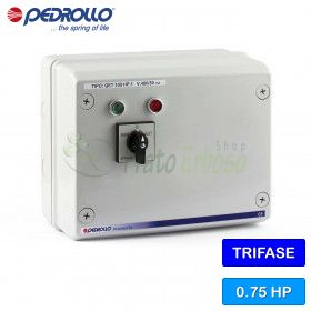 Vivid organiserxpress 075 - electric panel for electric pump, three phase 0.75 HP