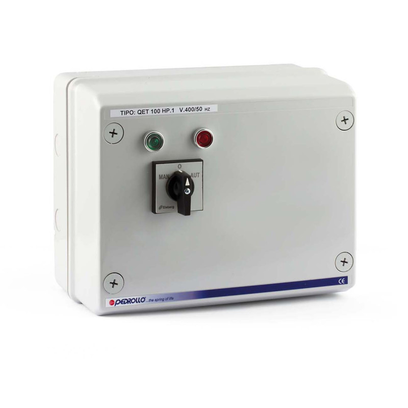 QET 550 - Electric panel for 5.5 HP three-phase electric pump